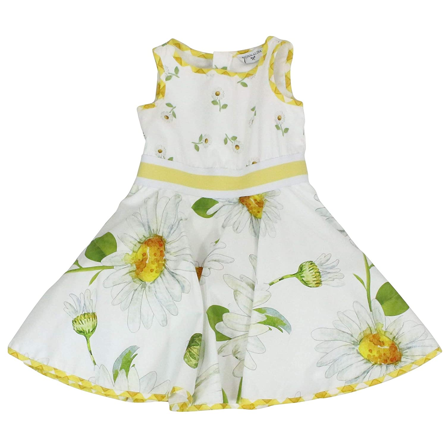 Taille Fabricant 8yrs Monnalisa Fille 11391036540099 Blanc Coton Robe