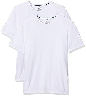 138b5082bd030 Dim - X-Temp - Maillot de corps col rond - Uni - Homme - Lot de 2   Amazon.fr  Vêtements et accessoires