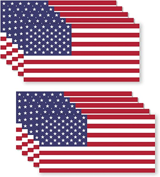 Distressed American Flag United States Army Star Military 3 pc Decal Collection