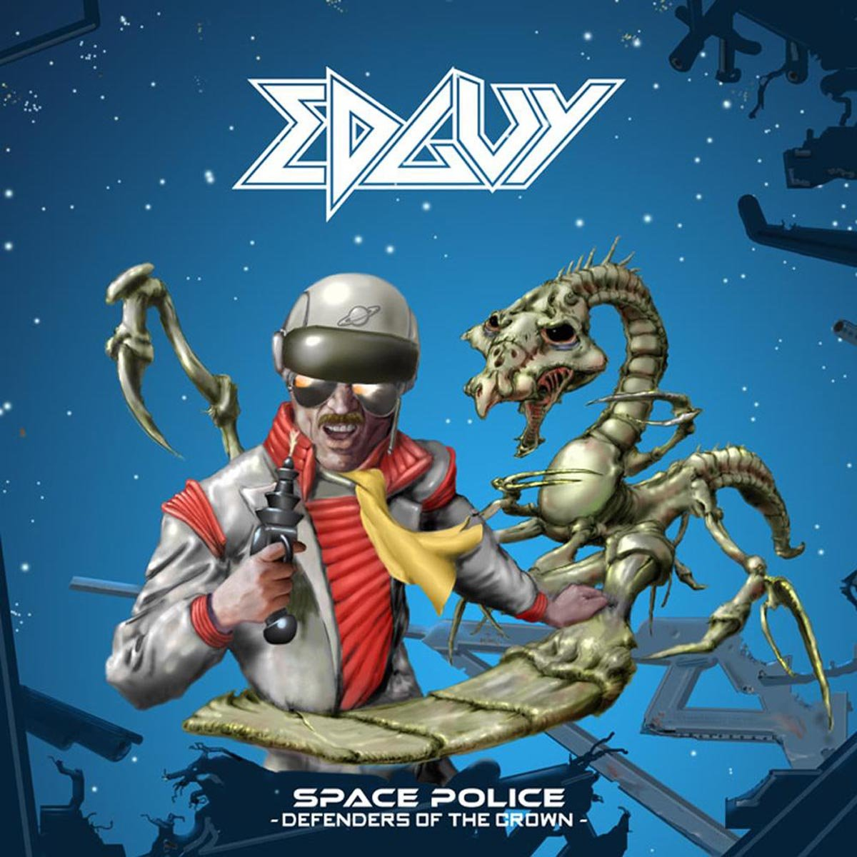 Vinilo : Edguy - Space Police - Defenders (United Kingdom - Import, 2 Disc)