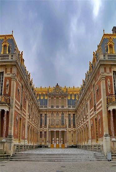 Amazon Com Aofoto 5x7ft Paris Chateau De Versailles Palace Backdrop For Photography French Trip European Building Background Photo Studio Props Lovers Adult Girl Boy Man Artistic Portrait Wallpaper Camera Photo