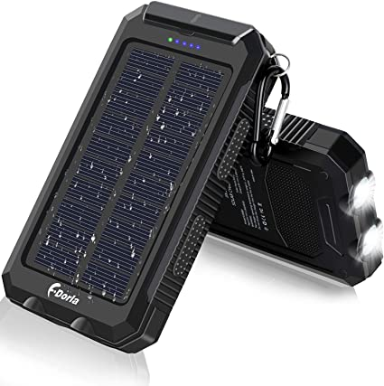 High Power LED Charger Flashlight light outdoor lighting with compass Battery