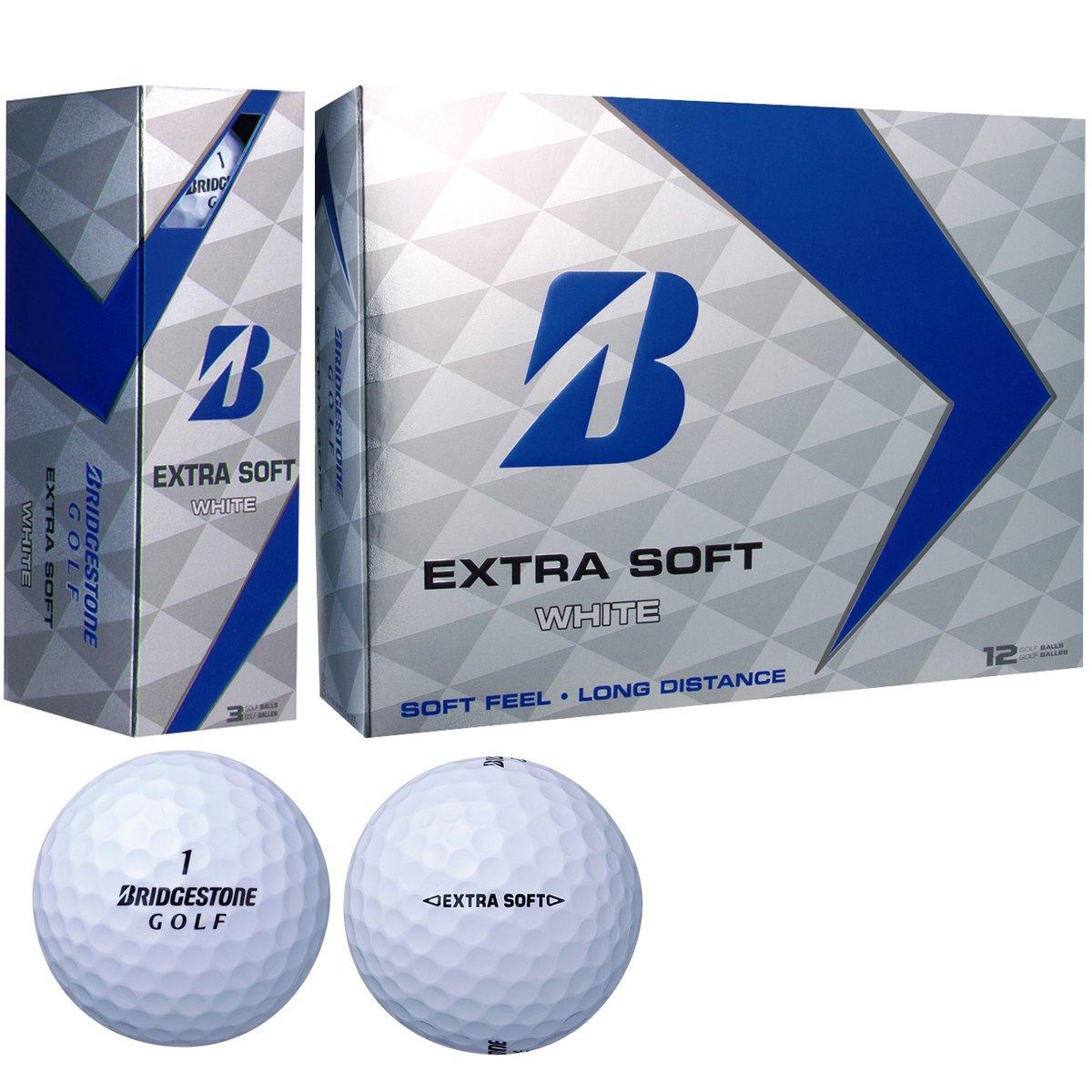 ブリヂストン EXTRA SOFT ボール エクストラソフト ボール 2017年モデル 5ダースセット 5ダース(60個入り) B06Y568NC8  ホワイト