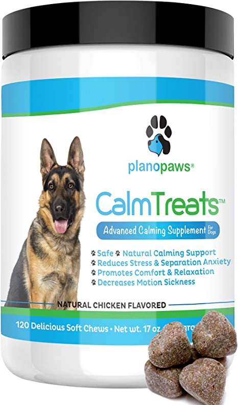 choose one bag or other two different flavors,calming, 150 mg dog treats