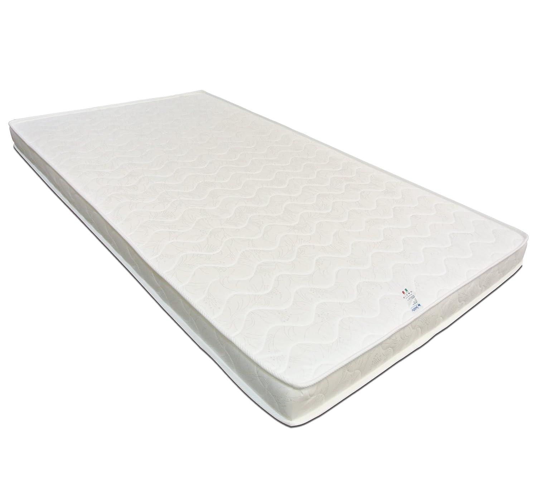 Baldiflex Matelas Easy Latex Memory, Latex + 2 cm Mousse à mémoire de Forme, Coton orthopédique, 80x200x15 cm