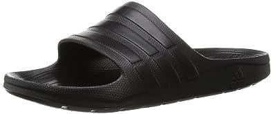 6b1a15eaa adidas Unisex Adults  Duramo Slide Beach   Pool Shoes  Amazon.co.uk ...