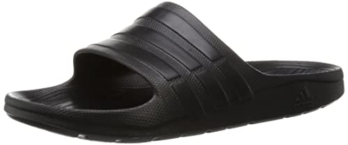 detailed pictures 13d0e 8d4ee adidas Duramo Slide, Chaussures de Plage  Piscine Mixte Adulte, Noir  Negbas 000,