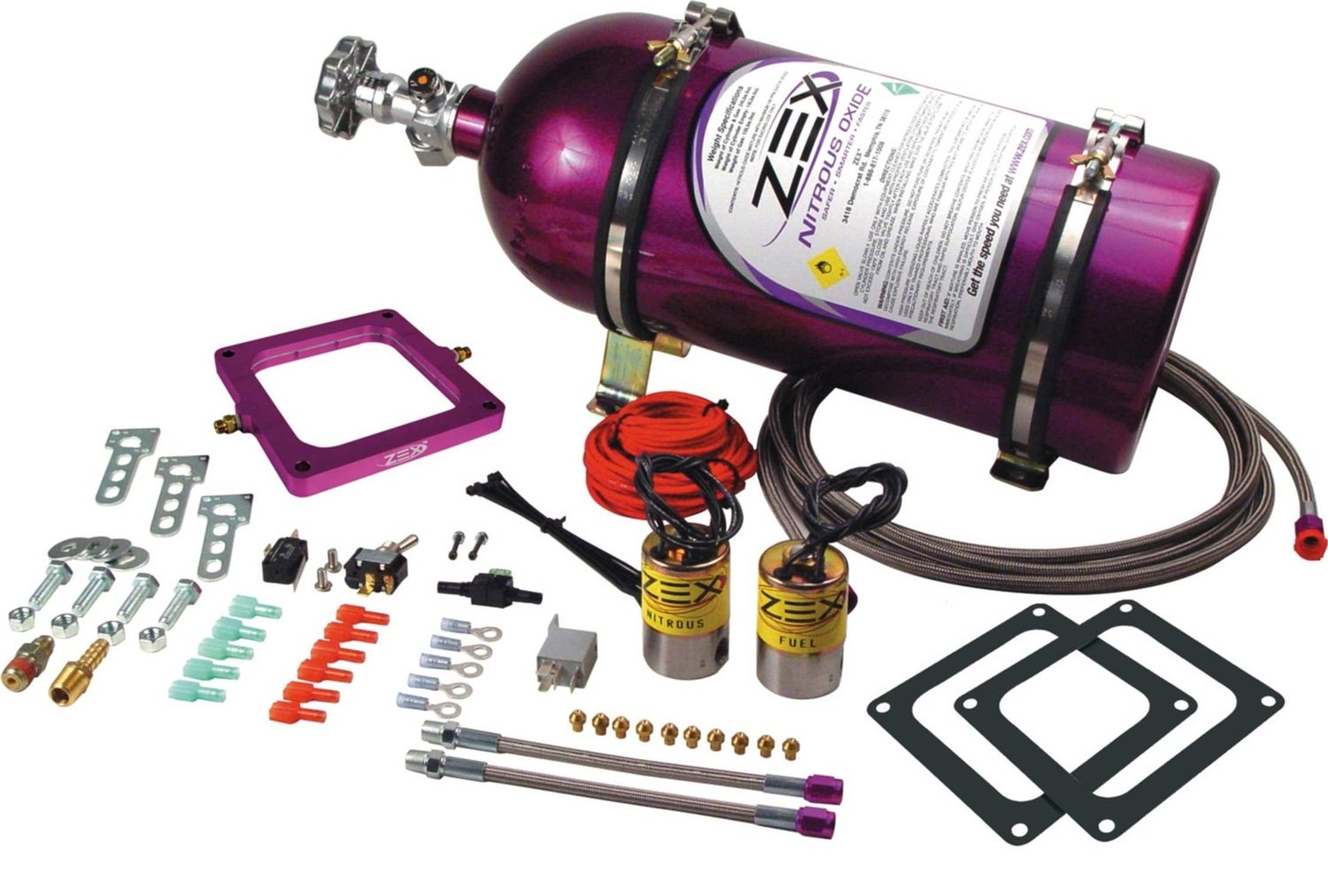 ZEX 82048 Dominator Perimeter Plate Nitrous System by Zex (Image #1)