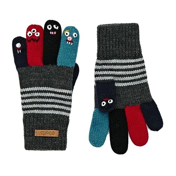 61dd5db08d Barts Unisex Baby Puppet Handschuhe, Grau (Dark Heather 019h), One size (
