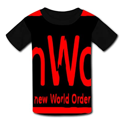 3D New-World N-W-O Design Sleeve T-Shirt Fashion Styles Tee Shirt