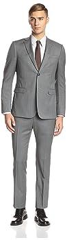 Z Zegna Men's Drop 8 Notch Lapel Suit