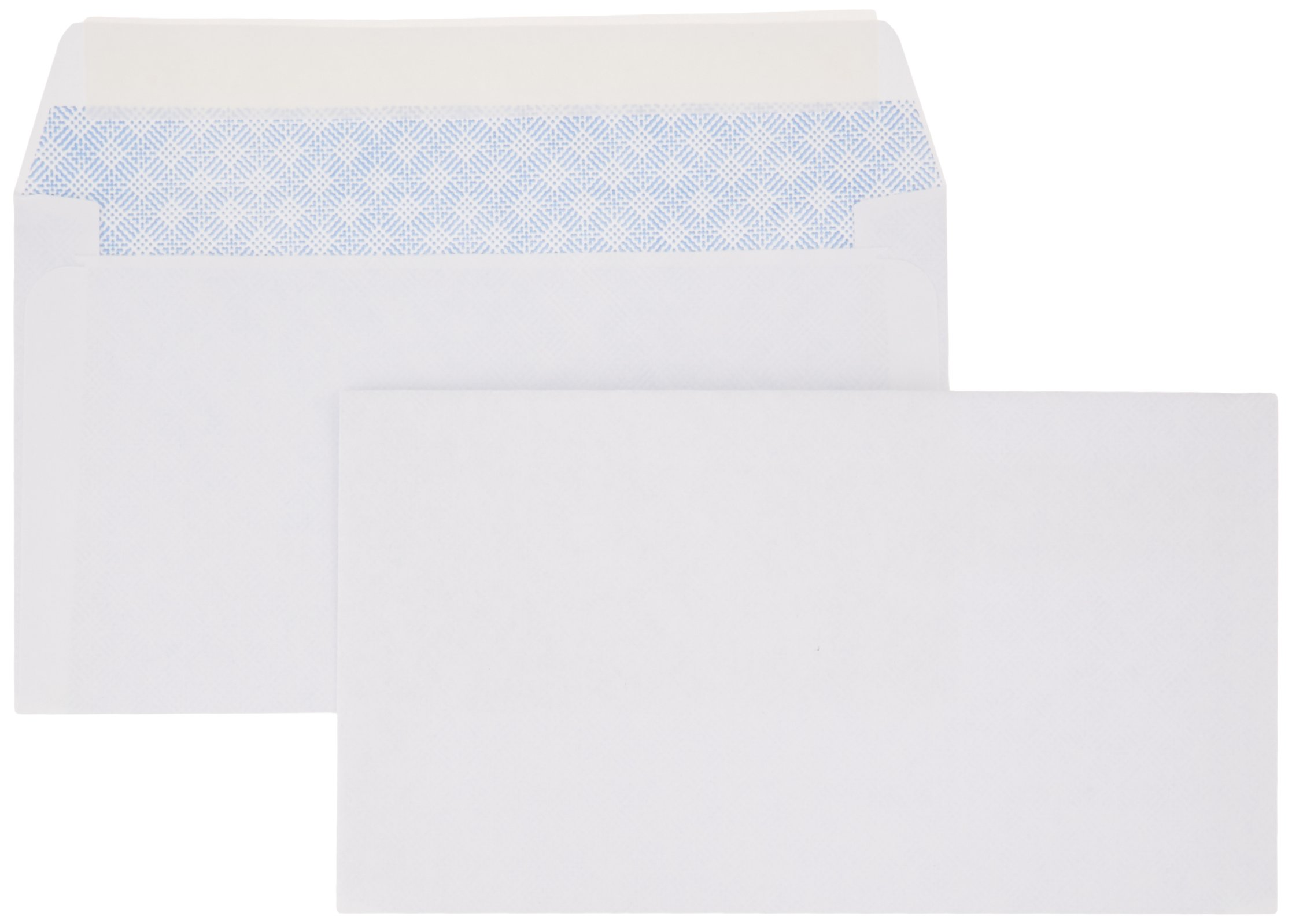 AmazonBasics #6 3/4 Security-Tinted Envelope, Peel & Seal, 100-Pack