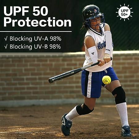 MoKo Mangas del Brazo con Protección UV, Solar UPF 50-Protección ...