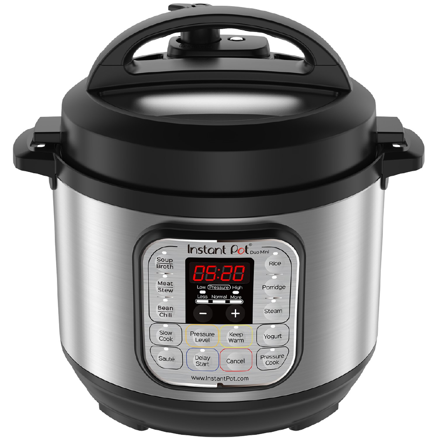 $79.99 (was $109.99) Instant Pot Duo Mini 3qt 7-in-1 Multi-Use Programmable Pressure Cooker, Rice Cooker 12 Cups Rice (Cooked)