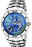 Espoir Analog Blue Dial Men's Watch-ESP8032