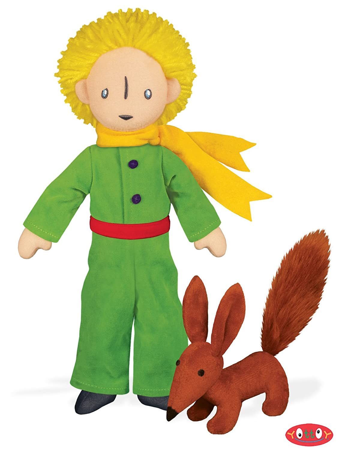 The Little Prince with Fox Soft Toy by Yottoy