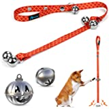 PuppyDoggy Dog Bells Adjustable Dog DoorBells for Potty Training House Training Premium Quality Door Bell for Dogs and Cats &