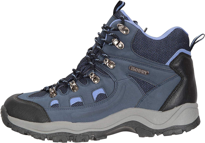 Semelle coussin/ée Robustes et Respirantes Tige en synth/étique et Doublure en Filet Mountain Warehouse Chaussures de randonn/ée Adventurer imperm/éables pour Femme