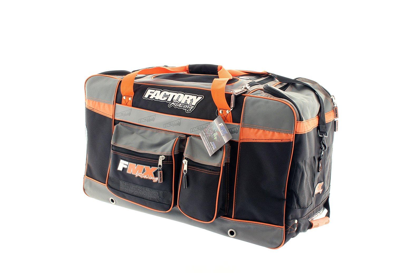 Factory FMX Motorcross Gear Bag XLarge Orange by Factory Racing