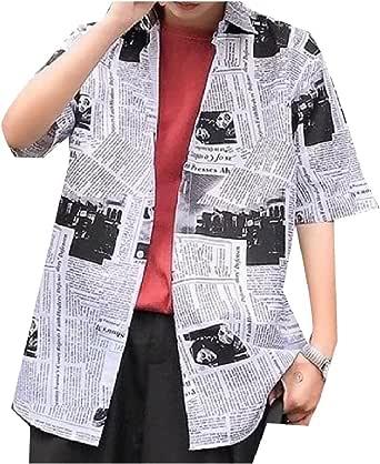 Zimaes-Men Vintage Elastic Casual Long-Sleeve Slim Fit Dress Shirts