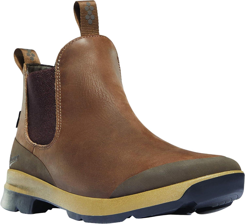 """Danner Men's Pub Garden Chelsea 4.5"""" Waterproof Lifestyle Boot"""