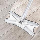 Yoki Home 免手洗平板拖把干湿两用家用瓷砖地一拖净旋转拖布懒人拖地神器
