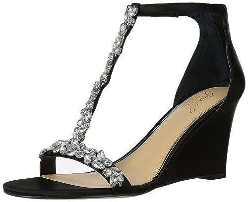563a3937795 Amazon.com  Badgley Mischka Women s Meryl Wedge Sandal  Shoes