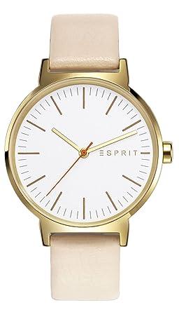 Armbanduhr damen esprit  Esprit Damen-Armbanduhr Nelly Analog Quarz Leder ES108312003 ...