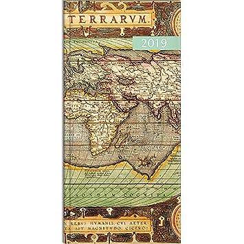 Agenda de bolsillo 2019 con mapas antiguos.: Amazon.es ...