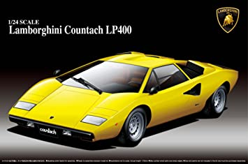 Buy Aoshima Lamborghini Countach Lp400 Model Kit Online At Low