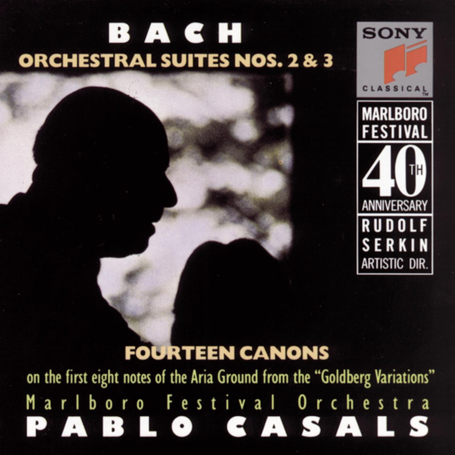 Bach: Orchestral Suites 2 & 3, Goldberg Canons