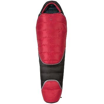 Sierra diseños Pyro 0 grado 600 para mano izquierda saco de dormir, hombre, rojo/negro: Amazon.es: Deportes y aire libre