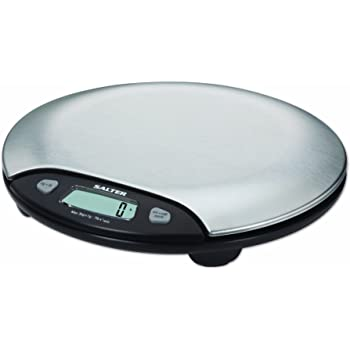 Amazon Com Salter Stainless Steel Electronic Scale 7