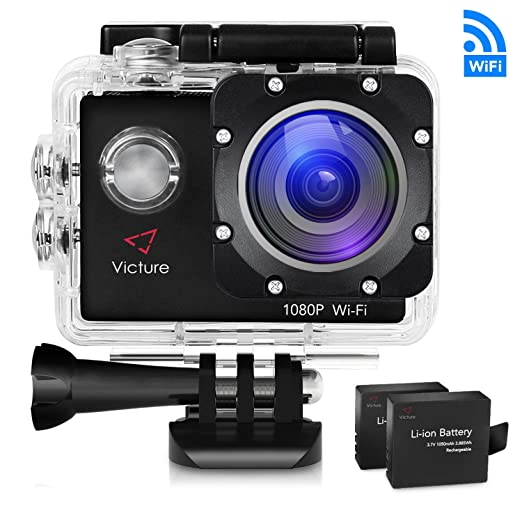 80 opinioni per Victure WIFI Action Cam Full HD 1080P 14MP Sport Action Camera Impermeabile 2