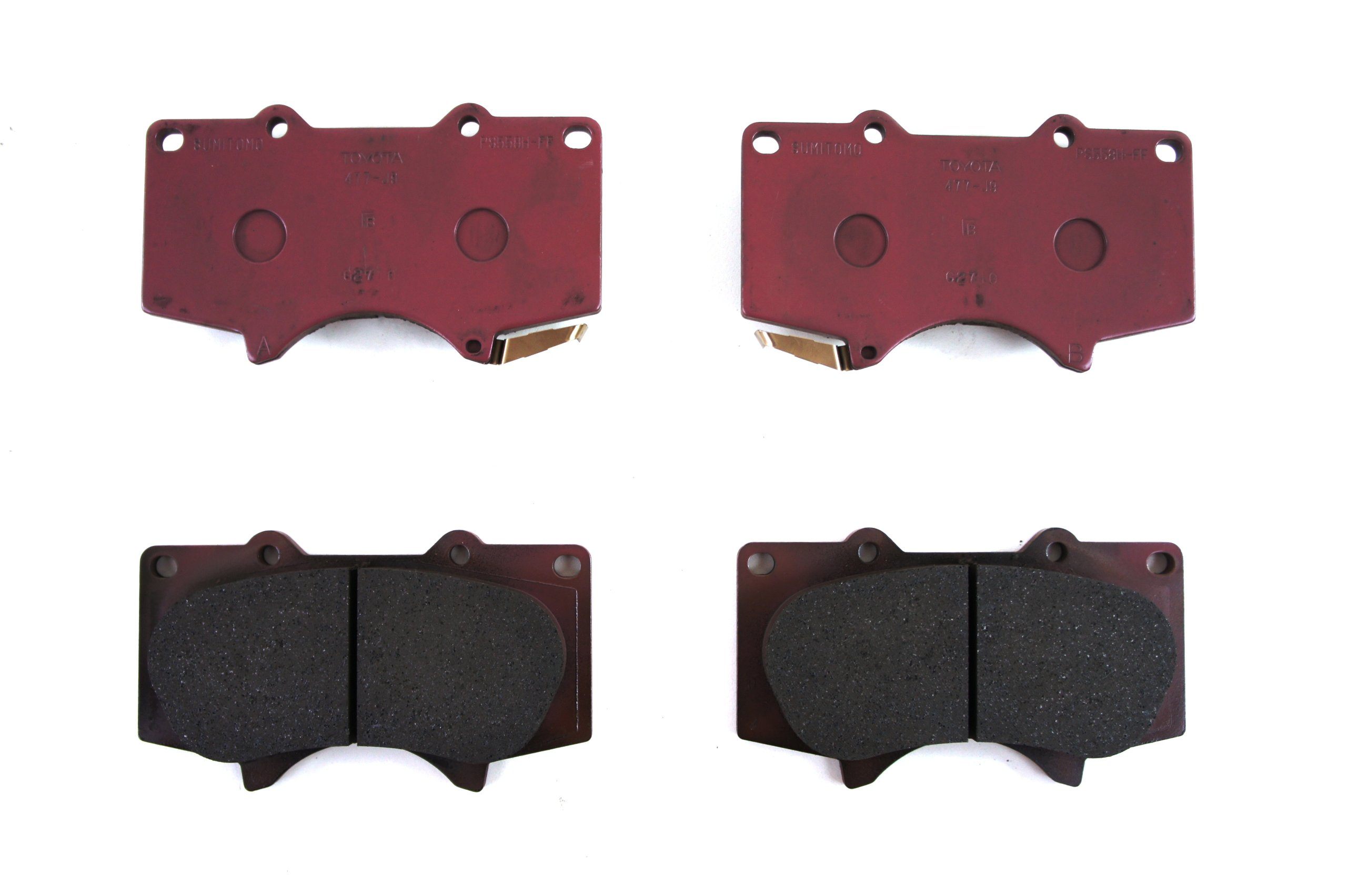 Toyota Genuine Parts 04465-35290 Front Brake Pad Set by Toyota