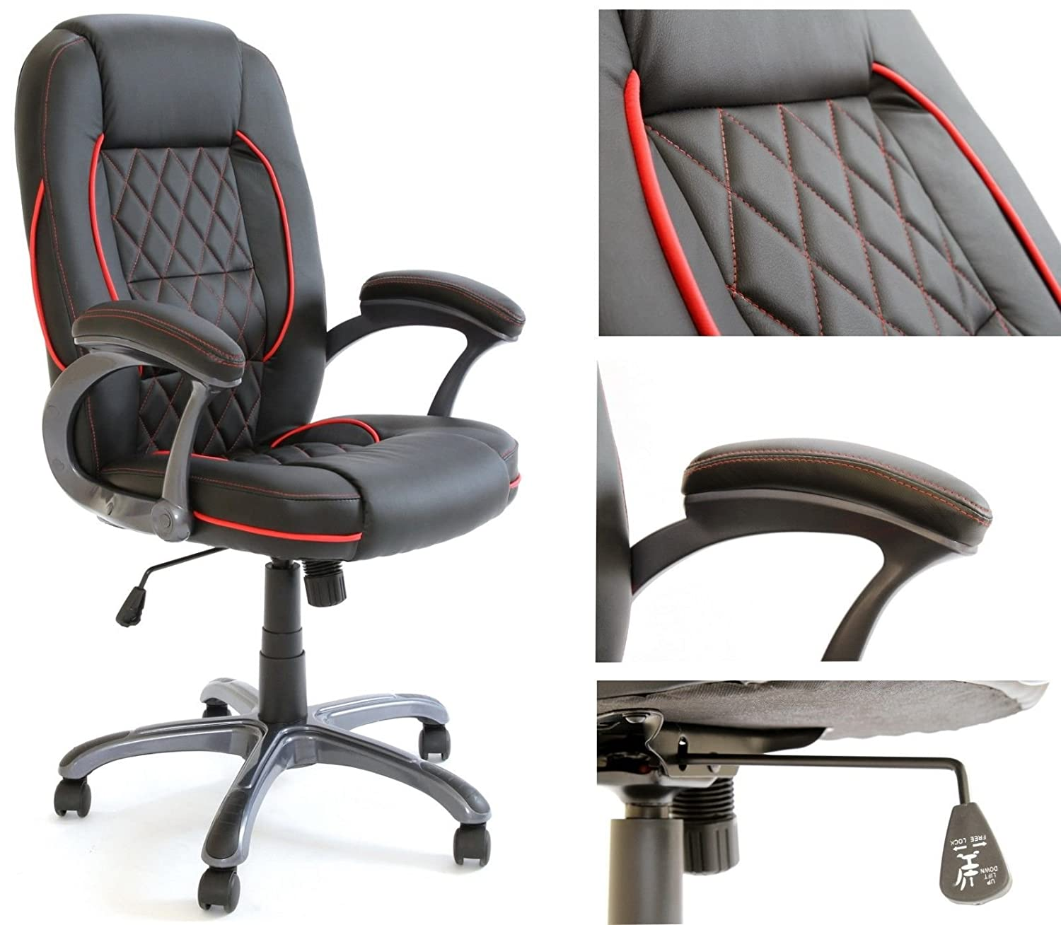 Charles Jacobs Executive fice CHAIR in Black High Back Business