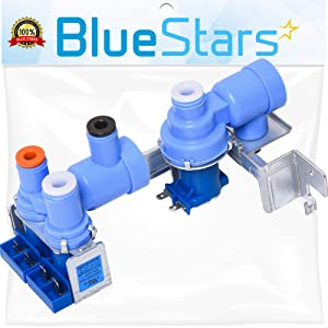Ultra Durable 5221JA2006D Refrigerator Water Inlet Valve Assembly Replacement Part by Blue Stars - Exact Fit for LG Refrigerators - Replaces AP4445614