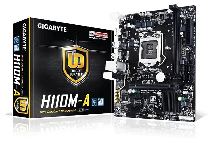 Review Gigabyte GA-H110M-A LGA1151 Intel