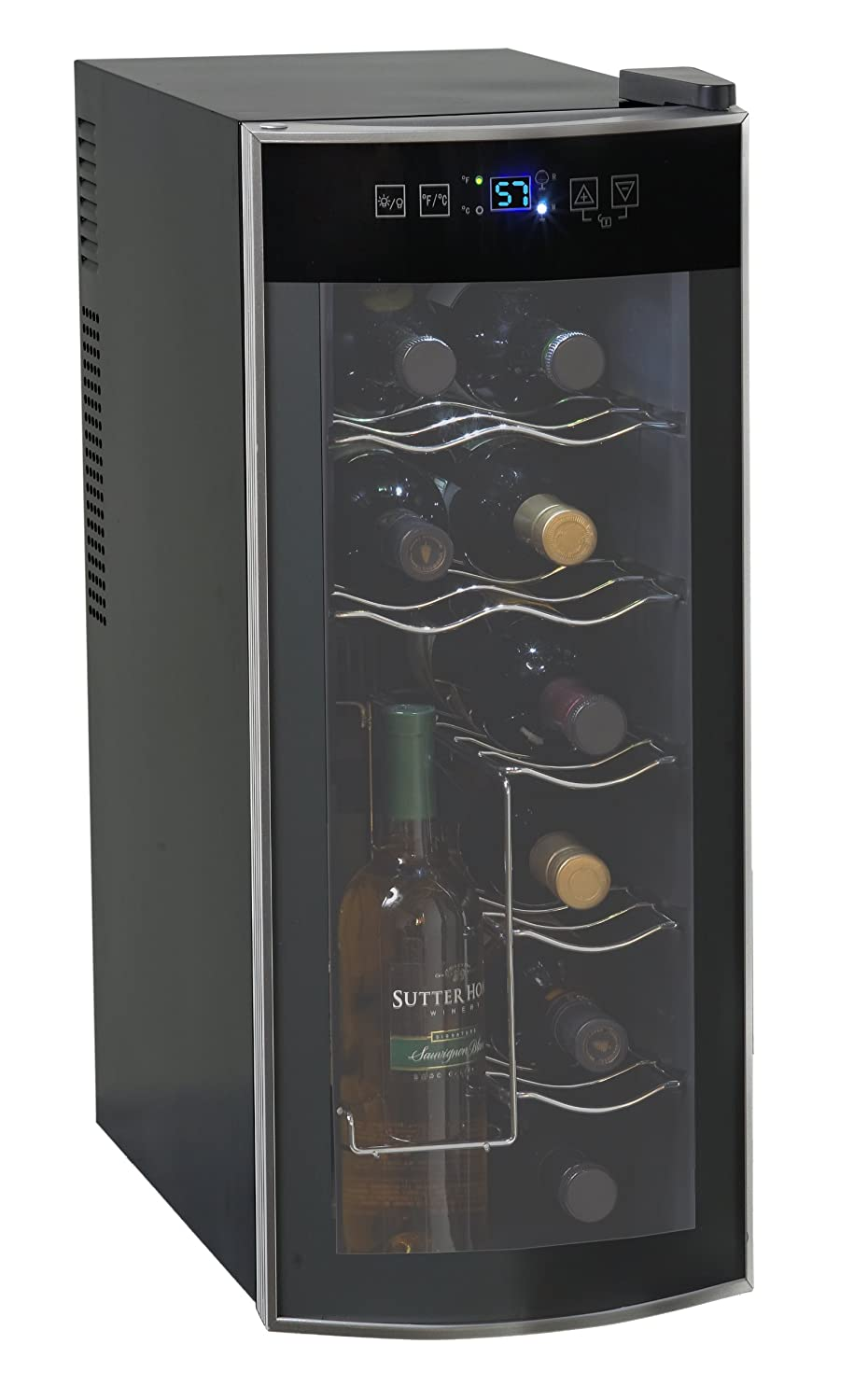 Amazon.com: Avanti 12 Bottle Thermoelectric Counter Top Wine Cooler - Model  EWC1201: Appliances