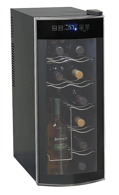 amazon com avanti 12 bottle thermoelectric counter top wine cooler rh amazon com Home Depot Wine Coolers Avanti Dual Zone Wine Cooler