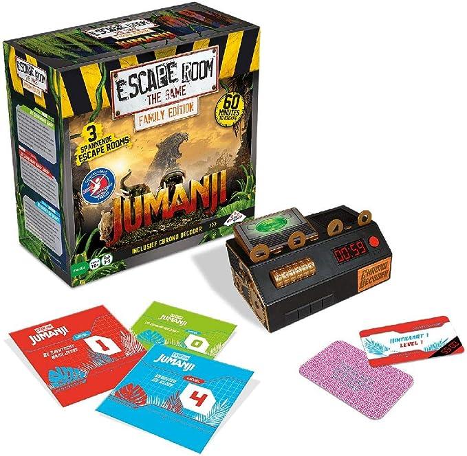 Identity Games Escape Room The Game: Jumanji Family Edition - Juego de Tablero: Amazon.es: Juguetes y juegos