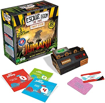 Identity Games Escape Room The Game: Jumanji Family Edition - Juego de Tablero: Amazon.es: Juguetes y juegos