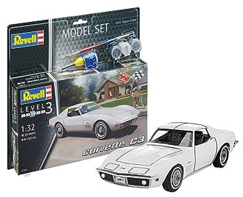 Revell 67684 - Maqueta de Auto 67684 Set 1: 32 - Corvette C3 ...