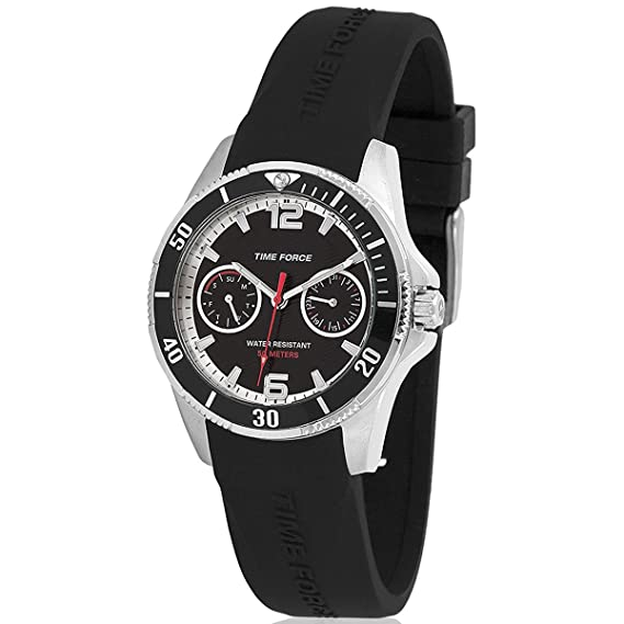 TIME FORCE TF-4110B01 Reloj para Chico, con Calendario: Amazon.es: Relojes