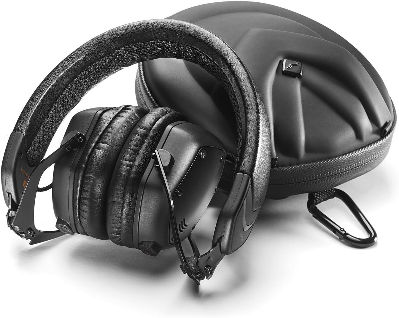 Matte Black V-MODA XS On-Ear Metal Noise-Isolating Headphones One Size  Musical Instruments & DJ Recording & Computer