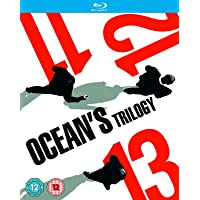 Ocean's Trilogy - 3 Movies: Ocean's Eleven (11) + Ocean's Twelve (12) + Ocean's Thirteen (13) (3-Disc Box Set) (Region Free + Slipcase Packaging + Fully Packaged Import)