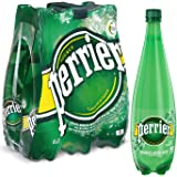 PERRIER Sparkling Natural Mineral Water, 6 x 1000 ml