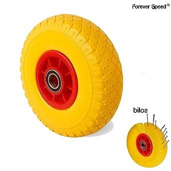 Forever Speed Rueda maciza para carretilla impinchable 3.00-4 (1 PCS)