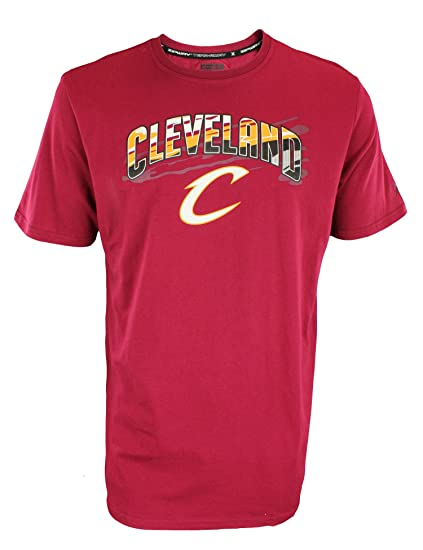 d2309821 NBA Mens Hot Lava Short Sleeve T-Shirt - Team Options (Cleveland Cavaliers,