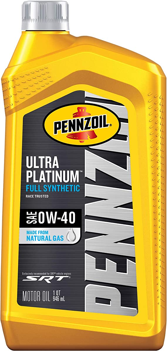 Pennzoil Ultra Platinum Full Synthetic 0W-40 Motor Oil (1 Quart